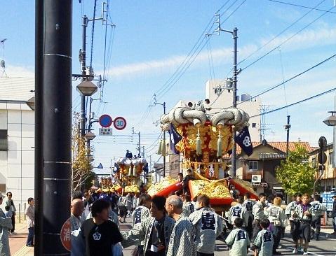 観音寺ちょうさ祭り