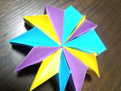 折り紙 ファイヤーワークス