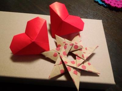 ハート 折り紙 ハート 折り紙 立体 : divulgando.net