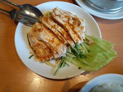 口水鶏(よだれ鶏)