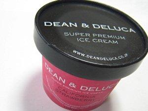 ディーン&デルーカ スーパープレミアムアイスクリーム・カリフォルニア ストロベリー