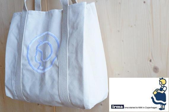 北欧雑貨/北欧/irma/イヤマ/トートバッグ/バッグ/イヤマキャンバストートバッグ/エコバッグ/デンマーク/雑貨