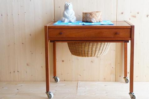 北欧家具/ヴィンテージ/ソーイングテーブル
