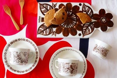 北欧食器/北欧雑貨/北欧/ヴィンテージ/arabia/アラビア/コーヒーカップ/テーブルウェア/カッティングボード/marimekkoファブリック