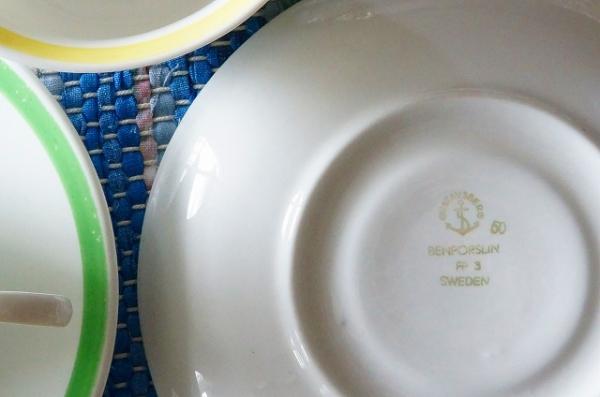 北欧雑貨/北欧食器/北欧/食器/雑貨/ヴィンテージ/gustavsberg/グスタフスベリ/コーヒーカップ&ソーサー