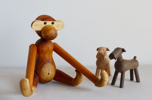 北欧雑貨/北欧//北欧インテリア/雑貨/KAY BOJESEN/カイボイスン/デンマーク/イヌ/犬/ティム/木製/オブジェ