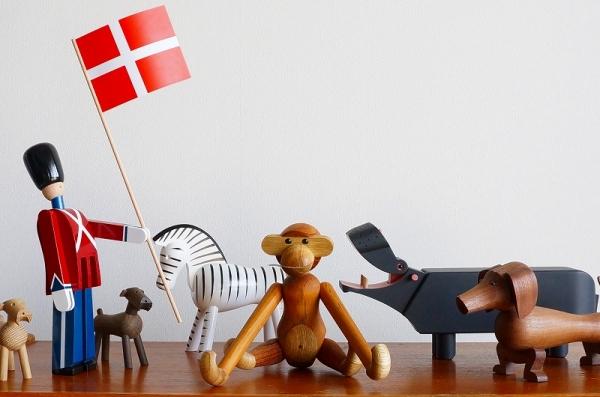 北欧雑貨/北欧/北欧インテリア/雑貨/KAY BOJESEN/カイボイスン/デンマーク/動物/衛兵/鳥/木製/オブジェ