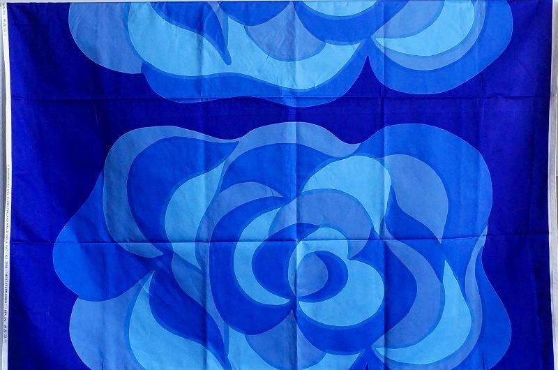 北欧雑貨/北欧生地/北欧/インテリア/生地/ファブリック/布/ヴィンテージ/marimekko/マリメッコ/mustasukkainen/マイヤイソラ/廃盤/キッチン/紫