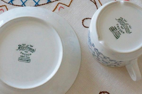 北欧食器/北欧雑貨/北欧/ヴィンテージ/食器/雑貨/rorstrand/ロールストランド/hallfast/コーヒーカップ&ソーサー/キッチン/インテリア