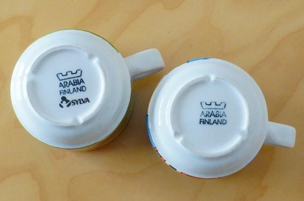 北欧雑貨/北欧食器/北欧/食器/ヴィンテージ/arabia/アラビア/ヘルヤ/マグカップ/ねこ/キッチン/インテリア