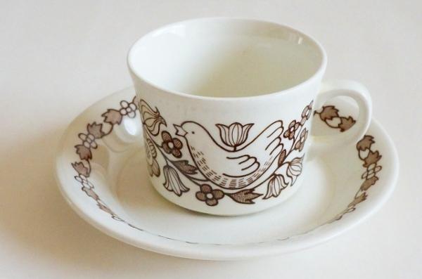 北欧食器/北欧雑貨/北欧/ヴィンテージ/食器/雑貨/arabia/アラビア/フィニッシュフリント/シルック/コーヒーカップ/キッチン/インテリア