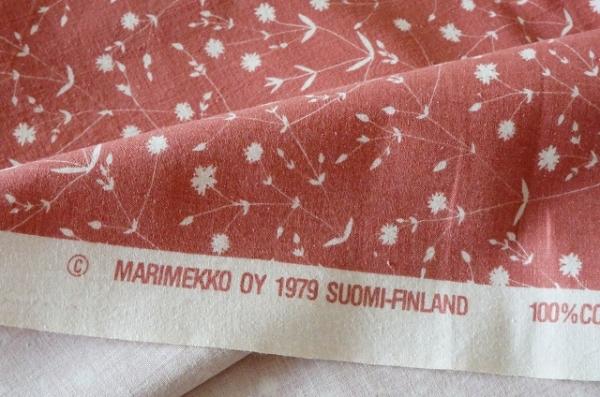 北欧雑貨/北欧/インテリア/雑貨/生地/布/ファブリック/marimekko/マリメッコ/nitty/ヴィンテージ