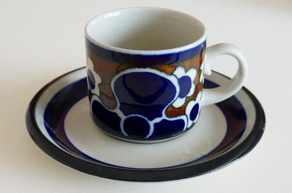 北欧食器/北欧雑貨/北欧/ヴィンテージ/食器/雑貨/arabia/アラビア/saara/サーラ/コーヒーカップ&ソーサー/キッチン/インテリア