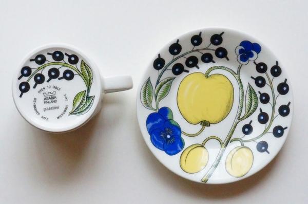 北欧食器/北欧雑貨/北欧/ヴィンテージ/食器/雑貨/アラビア/パラティッシ//コーヒーカップ&ソーサー/キッチン/インテリア