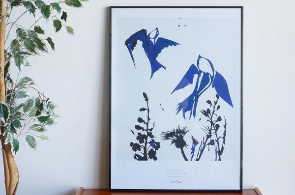 北欧雑貨/北欧/雑貨/ポスター/インテリア/stilleben/スティルレーベン/鳥