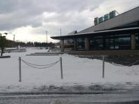 郷土館 雪
