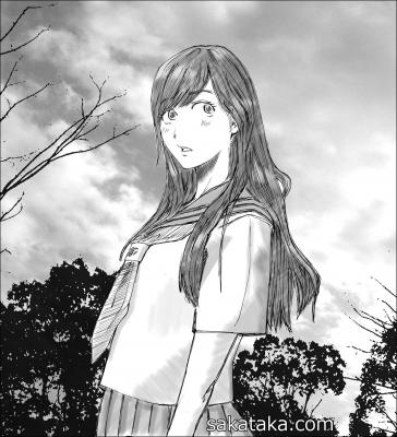 秋の空 少女