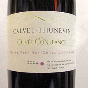 CALVET-THUNEVIN Cuvee Constance