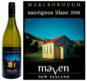 Maven Marlborough Sauvignon Blanc