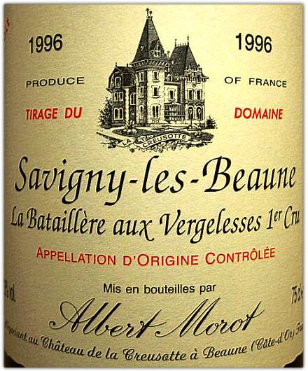 Albert Morot Savigny-les-Beaune LBaV1erC-1996
