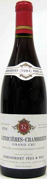 Remoissenet PeF Latricieres-Chambertin1992