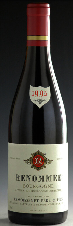 Remoissenet PeF Bourgogne Rouje Runommee1995