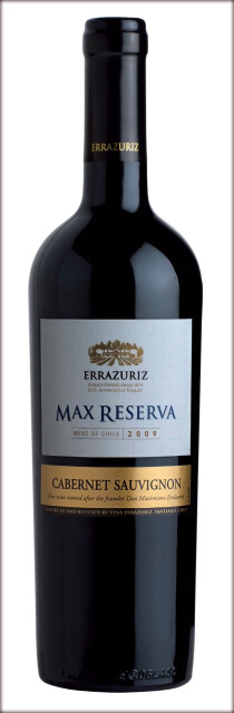 Vina Errazuriz Max Reserve Cabernet Sauvignon 2009