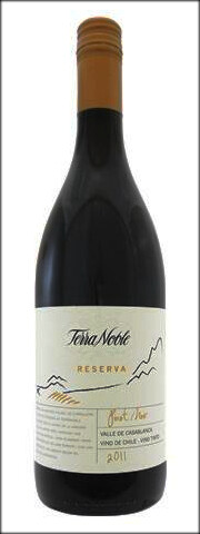 TERRA NOBLE PINOT NOIR RESERVA Vineyard Selection