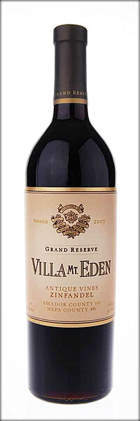 Villa Mt-Eden Grand Reserve Zinfandel Antique Vines
