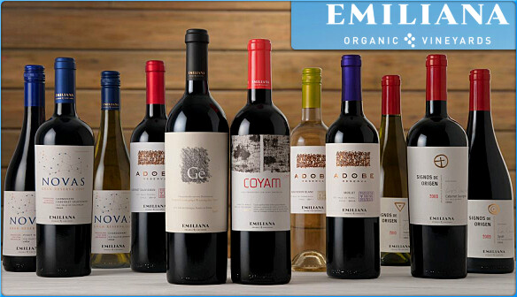 EMILIANA ORGANIC VINEYARDS-WINES