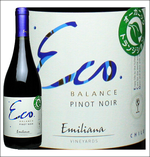 Emiliana Vineyards Eco Balance Pinot Noir-pic