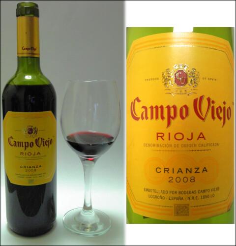 Campo-Viejo Crianza 2008