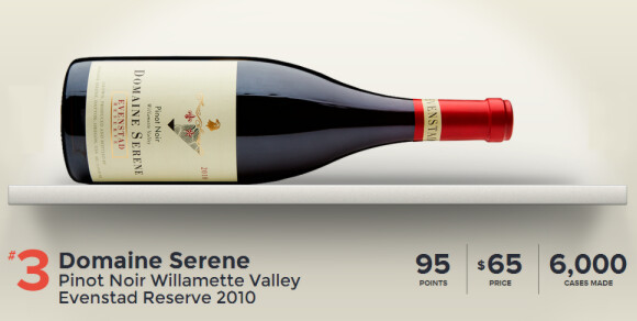 Domaine Serene Pinot Noir Willamette Valley Evenstad Reserve 2010-No3