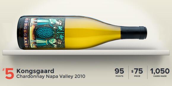 Kongsgaard Chardonnay Napa Valley 2010-No5