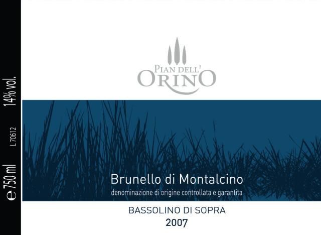 PIAN DELL ORINO BRUNELLO MONTALCINO