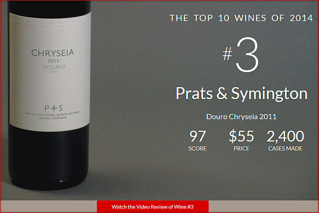 WS2014TOPNo3-Prats and Symington Douro Chryseia 2011