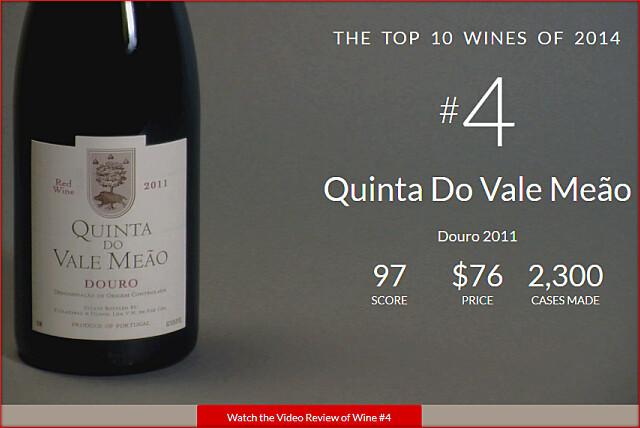 WS2014TOPNo4-Quinta Do Vale Meao Douro 2011