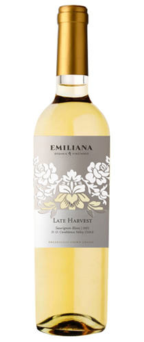 Emiliana Vineyards Late Harvest Sauvignon Blanc