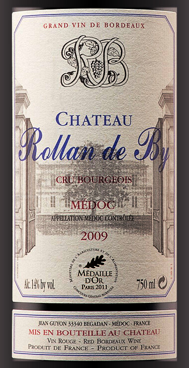 Chateau Rollan de By medoc 2009