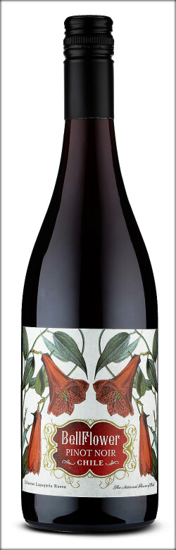 Bell Flower Pinot Noir bottle