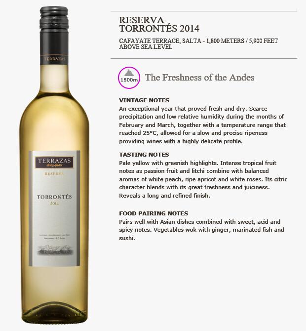 日本人向き 白ワインならアルゼンチン トロンテス種 を