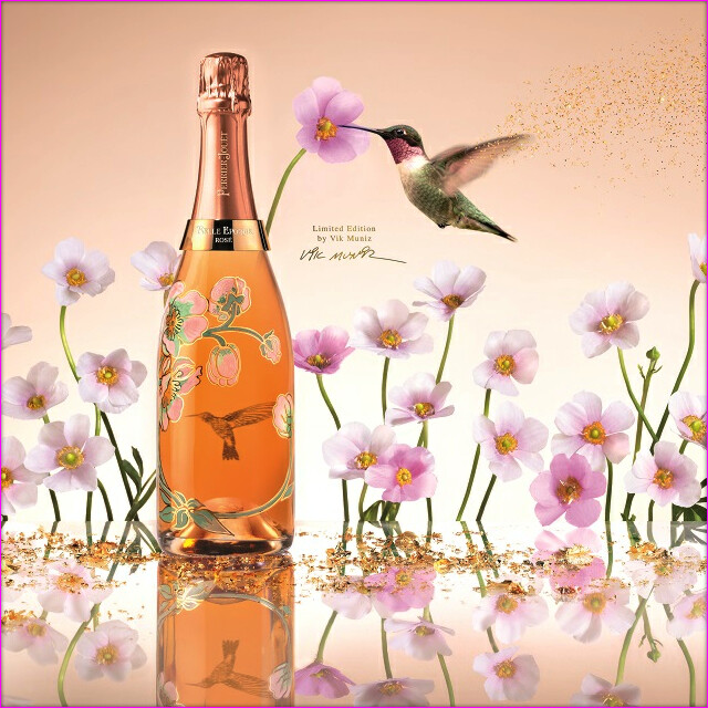 Perrier Jouet Belle Epoque Edition VIK MUNIZ headder
