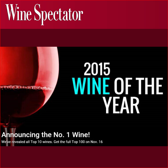 Wine Spectator TOP100 2015 headder
