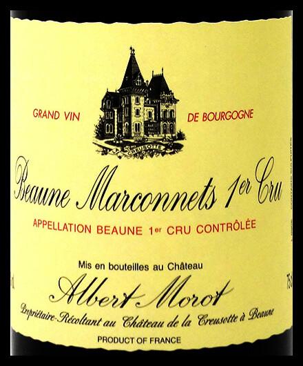 Albert Morot 1er Cru Marconnets 20x