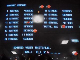 クリアスコアは、663,700点です