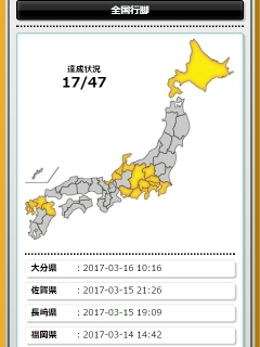 日本全国制覇の野望の図