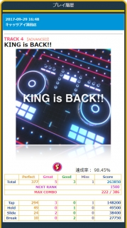 KING is BACK!!