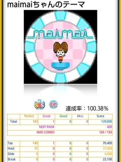 maimaiちゃんのテーマ