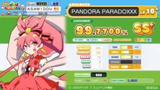 PANDORA PARADOXXX
