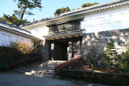 小田原城 常盤木門(ときわぎもん)